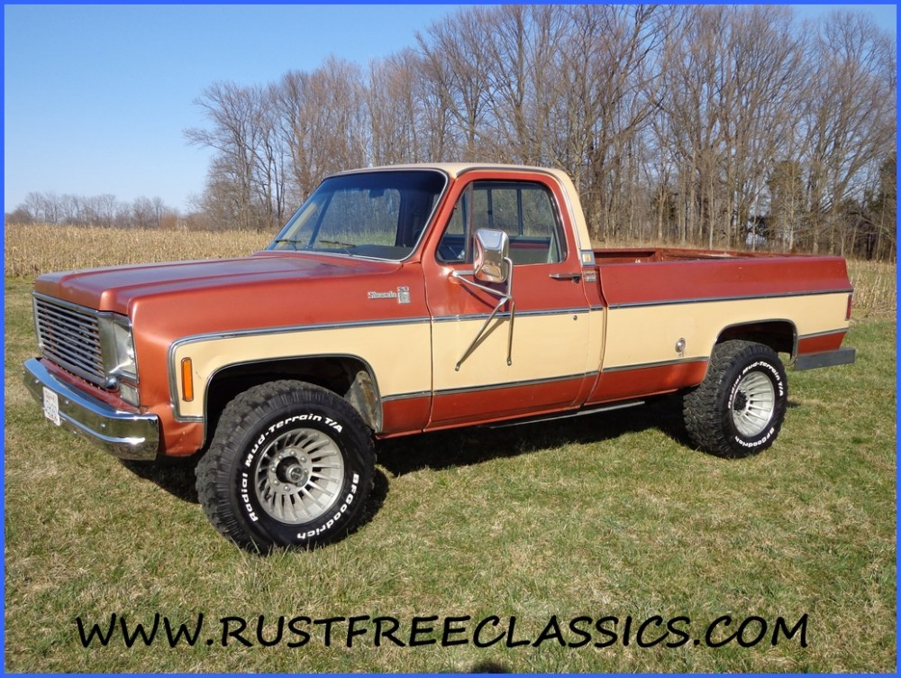 medium resolution of 1978 78 chevrolet chevy k20 3 4 ton 4x4 four wheel drive regular cab silverado camper special